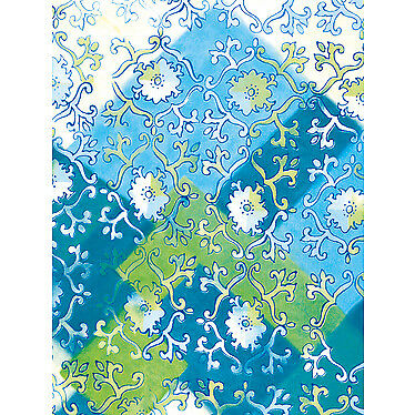 20er Pack DecoPatch Papier Nr. 425 blau grün Muster Deco Patch Deko Decoupage