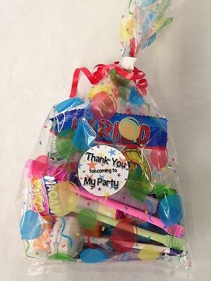 Childrens Sweet Bags, Pre Filled Party Favours, Kids Birthday Wedding Candy Loot