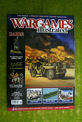 WARGAMES ILLUSTRATED ISSUE 347 September 2016 MAGAZINE