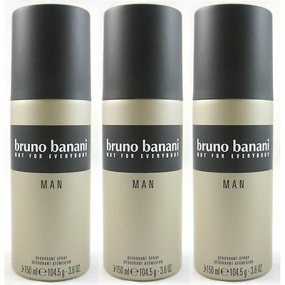 Bruno Banani Man - Men Deospray Deodorant 3 x 150 ml Set