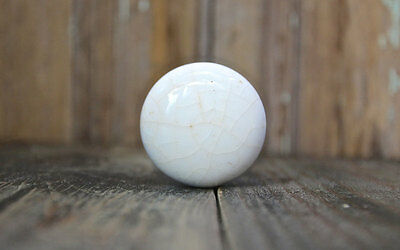White Porcelain Door Knob Vintage Hardware Old House Restoration