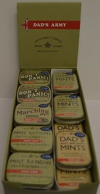 Dad's Army Mints - Set of 3 Assorted Tins Dads Army