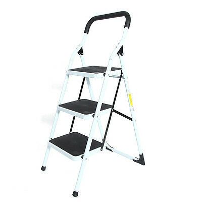 Portable Family-use Ladder 3 Steps Folding Stool Ladders Stair Platform Homestyl