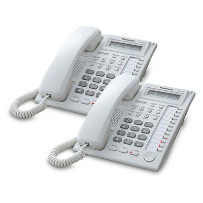 Panasonic-KX-T7730WX (2 pack) Speakerphone Telephone with LCD