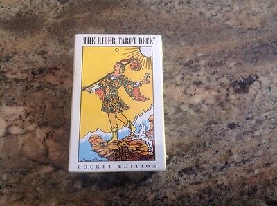 Original Rider-Waite Tarot Deck Cards - Brand New! Pocket Edition
