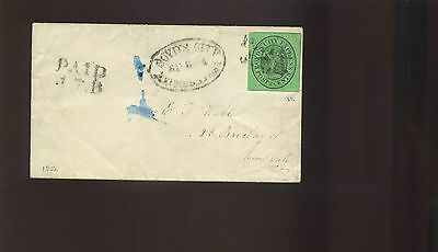 Scott #20L8 BOYD'S CITY EXPRESS Used Stamp On Nice Cover (Stock #20L8-1)