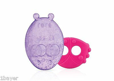 Nuby Ice Gel Teether with Sleeve - Assortment