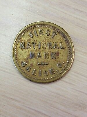 First national bank galion ohio free customer parking token