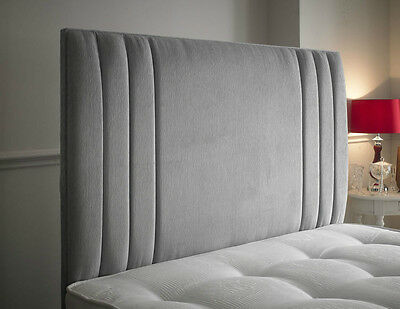 Panama Designer Headboard Bed Head In Leather, Chenille, Suede, Crushed Velvet