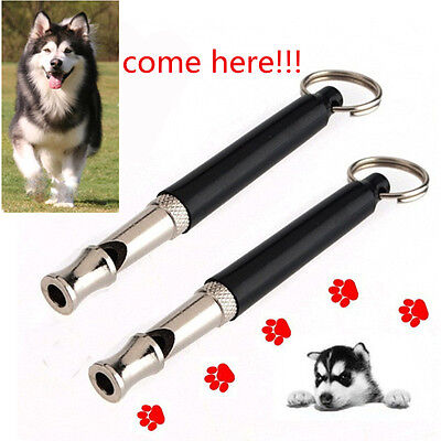Dog/Puppy Training Whistle UltraSonic Sound Silent Key Chain 80mm Better