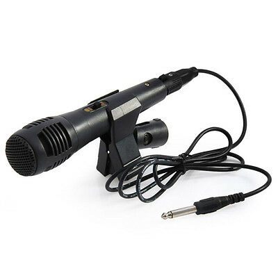 New 1.5M Professional Wired Microphone Dynamic Handheld  Cable Uni-directional