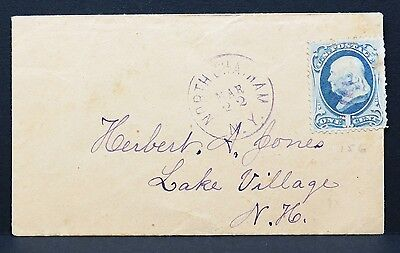 USA Postage One Cent on Cover EF auf Amerika Brief (Lot-I-3248