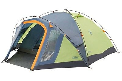 Coleman FastPitch Hub - Drake 4 Tent 2016 Camping Magazine Best Touring Tent