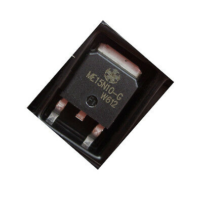 2 pcs NEW  ME15N10-G TO-252 MOS LCD power supply transistor