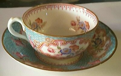 Tasse en porcelaine Cauldon England English porcelain bourgeois Paris