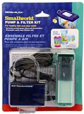 Penn-Plax Smallworld Pump & Filter Kit Fits all shapes and sizes of aquarium