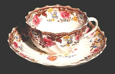 Spode Pattern 3275 Circa 1890 Tea Cup And Suacer