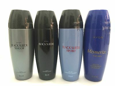 3 x AVON Mens assorted roll-on deodorants @ 85ml - choose your scent