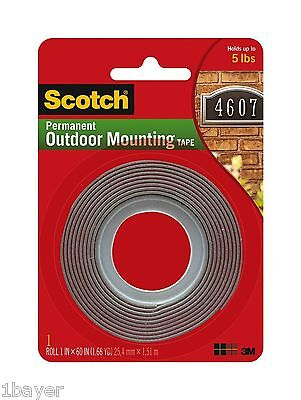 Scotch Water Proof Outdoor Garden Stucco Brick Surface Exterior Mounting Tape