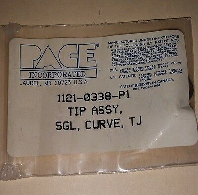PACE 1121-0338-P1 TIP, SINGLE CURVE (Package of 1)