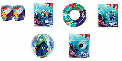 Finding Dory Inflatable Swim Ring Armbands Beach Ball Summer Holiday Pool Play