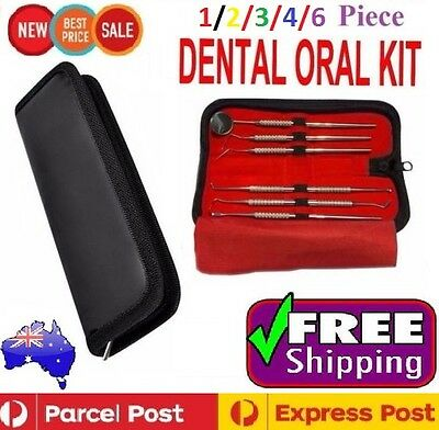 Dental Hygiene Tools Tartar Scaler Pick Calculus Plaque Teeth Mirror Whitening