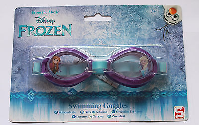 Disney Frozen Anna Elsa Girls Swimming Goggles Kids Holiday Summer Beach Pool 3+