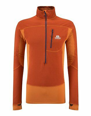 Mountain Equipment Eclipse Zip T (Cayenne/Flame )