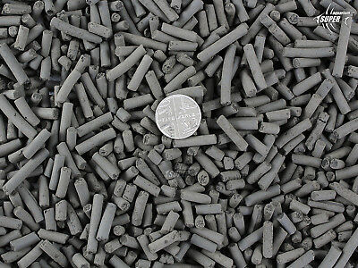Aquarium Fish Tank Quality Filter Media ACTIVE CARBON Porous Pellets 2-3 mm