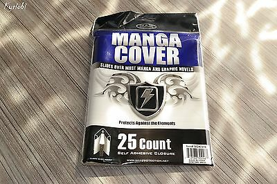 25 Count self adhesive closure Protects Elements ♦ MANGA COVER Max Protection