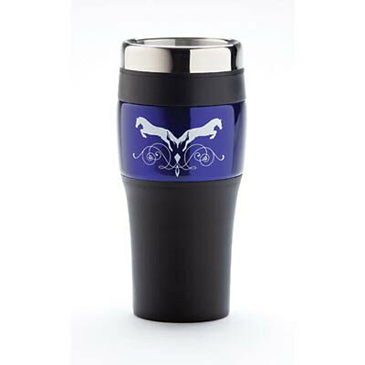 Jumper Horse Duet Travel Tumbler Mug with Lid
