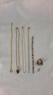 Lot of Sterling - Gold Plated (KP1125)