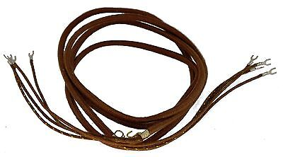 New Cloth Subset cord for Western Electric 202 and 102 telephones - 4 Conductors