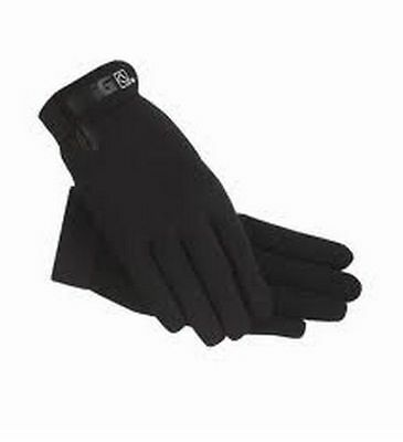 SSG All Weather Riding Gloves - Black - Equestrian Style 8600 Child, Ladies, Men
