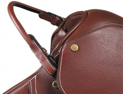 Kincade Leather Hand Hold Grab/Bucking Strap for saddle SHIPS FREE - Black