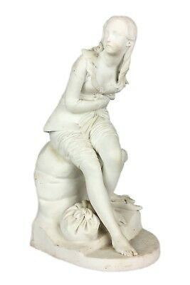 JOHN BELL, MINTON -DOROTHEA- LARGE C19th PARIAN LADY GIRL FIGURE MODEL SCULPTURE