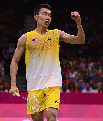 Lee Chong Wei Yonex Badminton Top - Cool Sportswear Sports Shirt - UK Stock