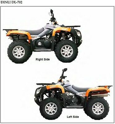 Dinli Centhor 700 DL-702 ATV Service Manual on a CD