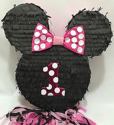 First Birthday Minnie Mouse Inspired Pinata