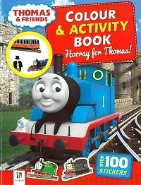 Thomas And Friends Colour & sticker Activity Hooray new, free prioritypost Austr