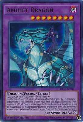 Amulet Dragon (DRL3-EN043) - Ultra Rare - Near Mint - 1st Edition