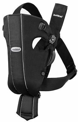 BABYBJÖRN Baby Bjorn Carrier Original ~ Black Cotton Infant/Newborn - 25 Pounds