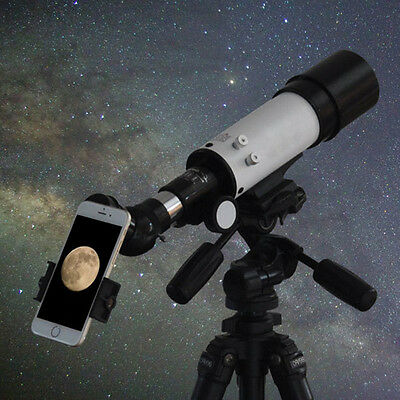 "New 2"" to M48*0.75 Adapter for Telescope Eyepiece Black Telescope Smartphone"