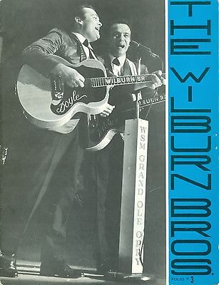 FOLIO ~ THE WILBURN BROTHERS ~ Song Book and Picture Album ~