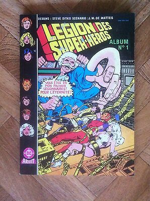 ALBUM No 1 LEGION DES SUPER-HEROS ARTIMA COLOR BE/TBE