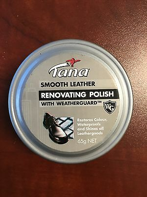 TANA Renovating Polish with Weaatherguard - Shoe Polish ALL COLOURS!