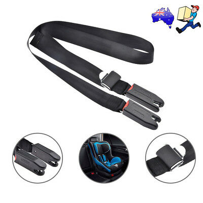 1x Adjustable Car Baby Kids Safe Seat Strap Isofix Latch Link Belt Anchor Holder