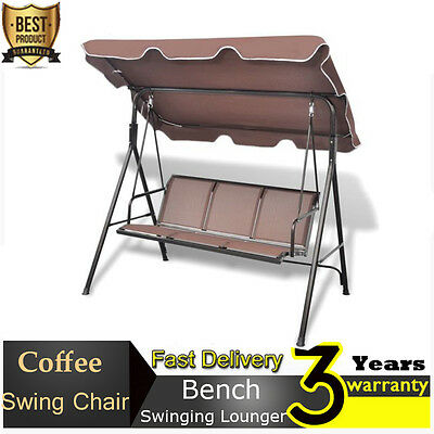 Swing Chair Hammock Swinging Lounger Seat Bench for Patio Garden Home Decor NEW