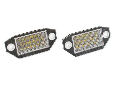 Ford Mondeo Iii Mk3 00-07 Number License Plate Light Lamp 2X Led
