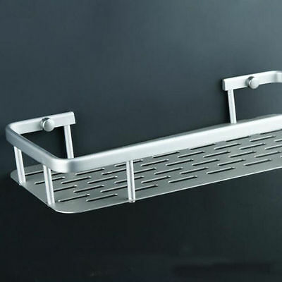 1 Pc Aluminum Multifunctional Single Tier Bathroom Shelves Bolt Inserting Type